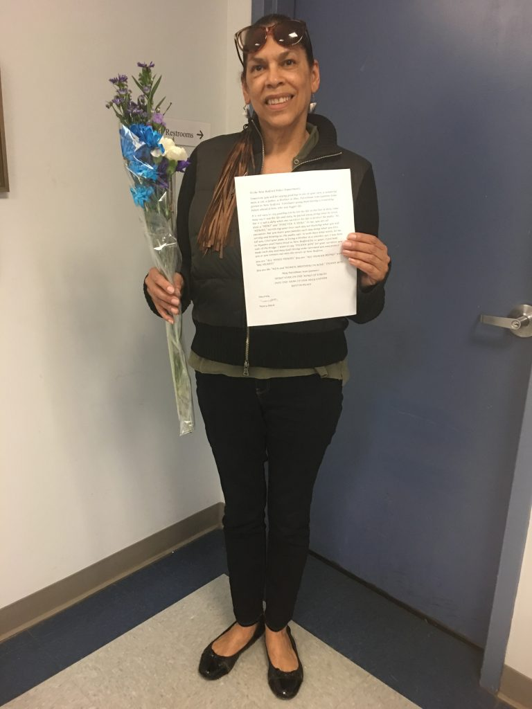 A special gift from a special person – New Bedford Police